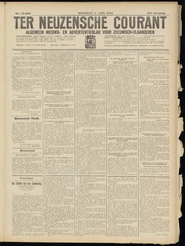 Ter Neuzensche Courant. Algemeen Nieuws- en Advertentieblad voor Zeeuwsch-Vlaanderen / Neuzensche Courant ... (idem) / (Algemeen) nieuws en advertentieblad voor Zeeuwsch-Vlaanderen 1940-06-03