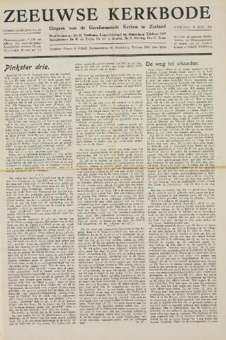 Zeeuwsche kerkbode, weekblad gewijd aan de belangen der gereformeerde kerken/ Zeeuwsch kerkblad 1949-06-17