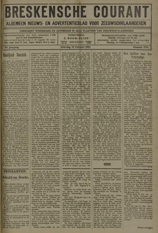 Breskensche Courant 1922-02-18