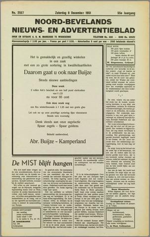 Noord-Bevelands Nieuws- en advertentieblad 1951-12-08
