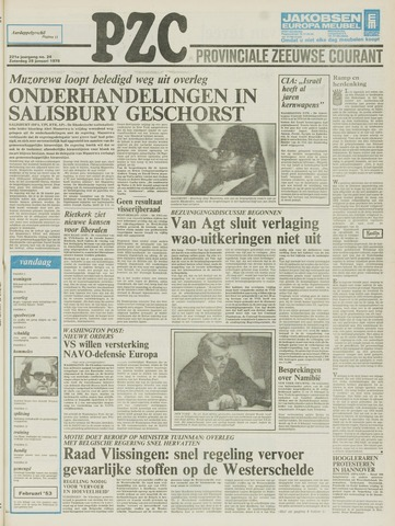 Provinciale Zeeuwse Courant 1978-01-28