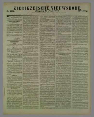 Zierikzeesche Nieuwsbode 1888-06-12