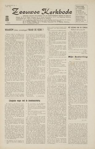 Zeeuwsche kerkbode, weekblad gewijd aan de belangen der gereformeerde kerken/ Zeeuwsch kerkblad 1965-07-09