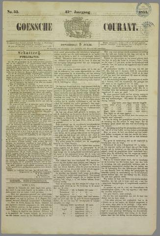 Goessche Courant 1855-07-05