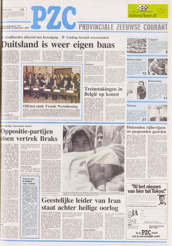 Provinciale Zeeuwse Courant 1990-09-13