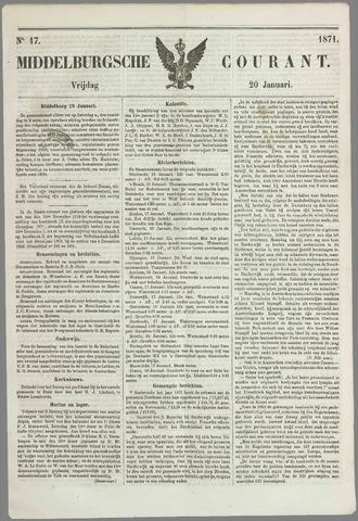 Middelburgsche Courant 1871-01-20