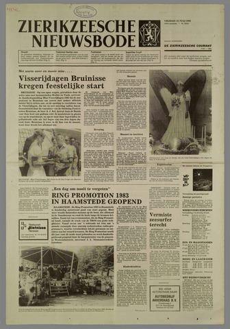 Zierikzeesche Nieuwsbode 1983-07-15