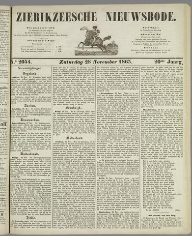 Zierikzeesche Nieuwsbode 1863-11-28
