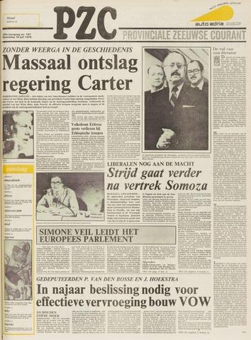 Provinciale Zeeuwse Courant 1979-07-18