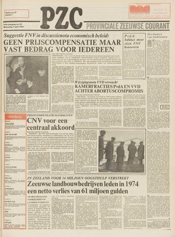 Provinciale Zeeuwse Courant 1976-04-07