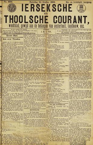 Ierseksche en Thoolsche Courant 1908-10-24