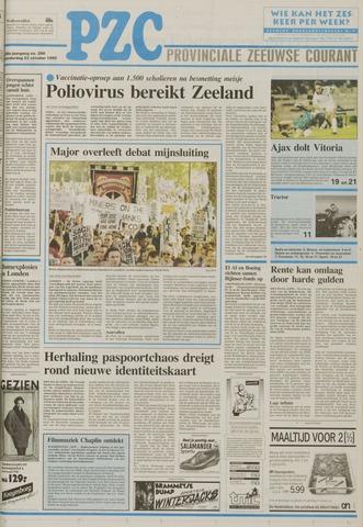 Provinciale Zeeuwse Courant 1992-10-22