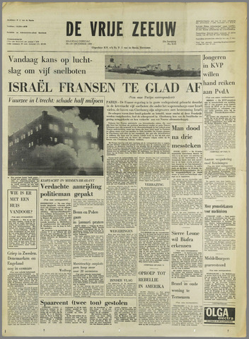 de Vrije Zeeuw 1969-12-29