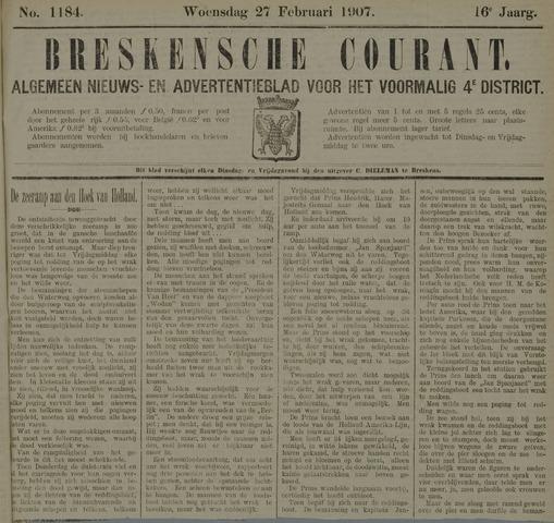 Breskensche Courant 1907-02-27