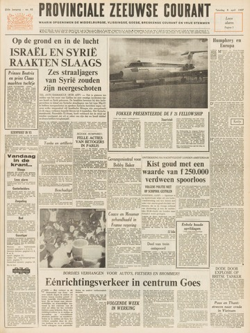 Provinciale Zeeuwse Courant 1967-04-08