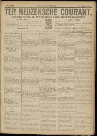 Ter Neuzensche Courant. Algemeen Nieuws- en Advertentieblad voor Zeeuwsch-Vlaanderen / Neuzensche Courant ... (idem) / (Algemeen) nieuws en advertentieblad voor Zeeuwsch-Vlaanderen 1916-06-01