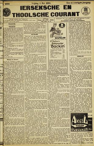 Ierseksche en Thoolsche Courant 1925-05-01