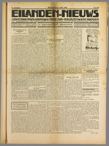 Eilanden-nieuws. Christelijk streekblad op gereformeerde grondslag 1935-05-08
