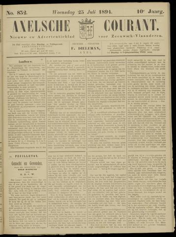 Axelsche Courant 1894-07-25