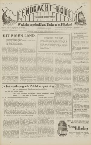 Eendrachtbode (1945-heden)/Mededeelingenblad voor het eiland Tholen (1944/45) 1949-07-08