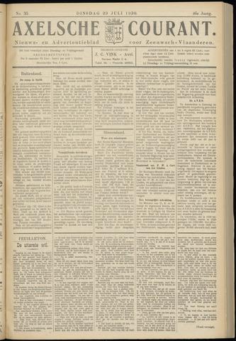 Axelsche Courant 1930-07-29