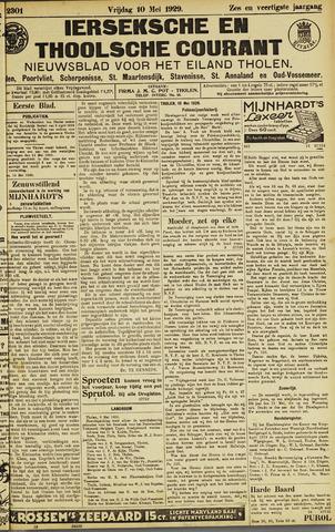 Ierseksche en Thoolsche Courant 1929-05-10