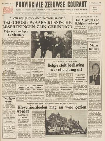 Provinciale Zeeuwse Courant 1968-08-01