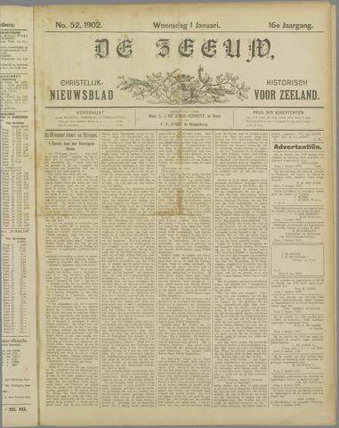 De Zeeuw. Christelijk-historisch nieuwsblad voor Zeeland 1902