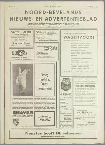 Noord-Bevelands Nieuws- en advertentieblad 1964-10-31