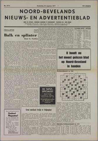 Noord-Bevelands Nieuws- en advertentieblad 1977-08-25