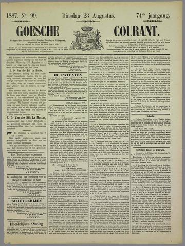 Goessche Courant 1887-08-23