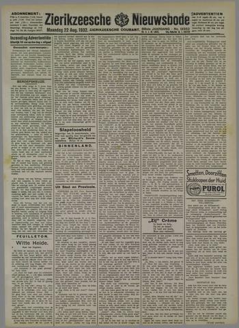 Zierikzeesche Nieuwsbode 1932-08-22