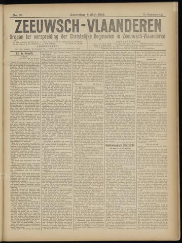 Luctor et Emergo. Antirevolutionair nieuws- en advertentieblad voor Zeeland / Zeeuwsch-Vlaanderen. Orgaan ter verspreiding van de christelijke beginselen in Zeeuwsch-Vlaanderen 1918-05-04