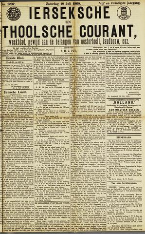 Ierseksche en Thoolsche Courant 1908-07-18