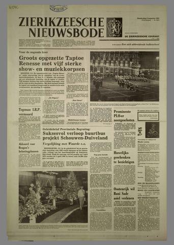 Zierikzeesche Nieuwsbode 1981-08-06