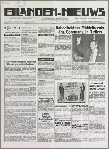 Eilanden-nieuws. Christelijk streekblad op gereformeerde grondslag 1995-09-12