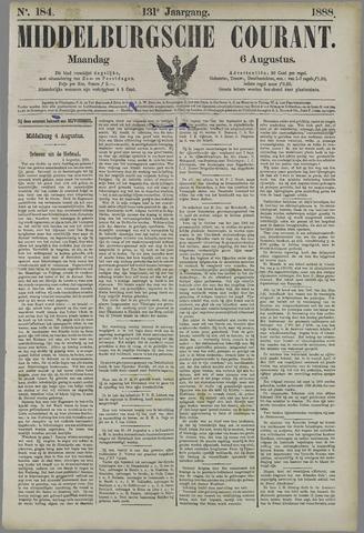 Middelburgsche Courant 1888-08-06