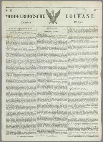 Middelburgsche Courant 1862-04-19