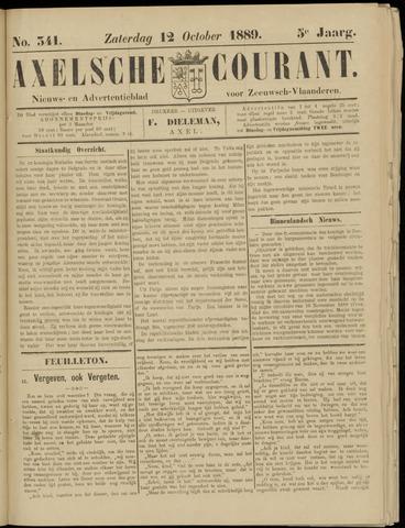 Axelsche Courant 1889-10-12