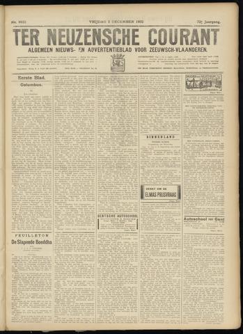 Ter Neuzensche Courant. Algemeen Nieuws- en Advertentieblad voor Zeeuwsch-Vlaanderen / Neuzensche Courant ... (idem) / (Algemeen) nieuws en advertentieblad voor Zeeuwsch-Vlaanderen 1932-12-02