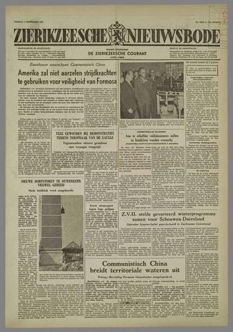 Zierikzeesche Nieuwsbode 1958-09-05