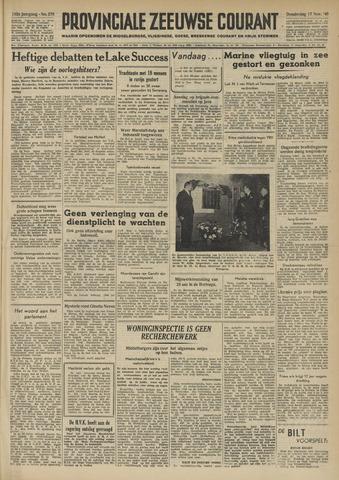 Provinciale Zeeuwse Courant 1949-11-17