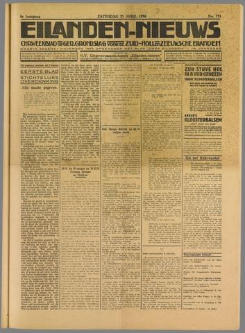 Eilanden-nieuws. Christelijk streekblad op gereformeerde grondslag 1936-04-25