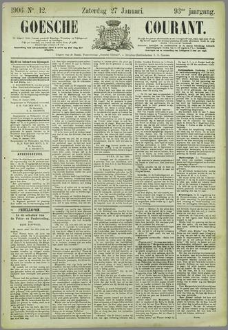 Goessche Courant 1906-01-27