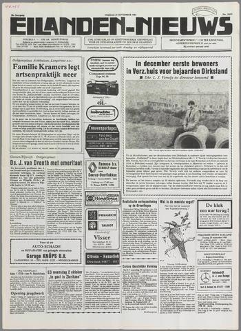 Eilanden-nieuws. Christelijk streekblad op gereformeerde grondslag 1985-09-27