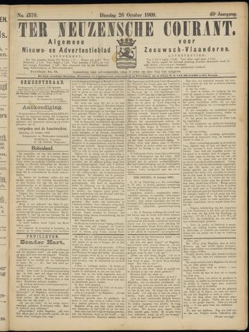 Ter Neuzensche Courant. Algemeen Nieuws- en Advertentieblad voor Zeeuwsch-Vlaanderen / Neuzensche Courant ... (idem) / (Algemeen) nieuws en advertentieblad voor Zeeuwsch-Vlaanderen 1909-10-26