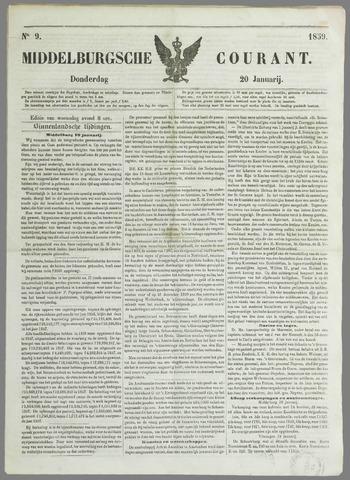 Middelburgsche Courant 1859-01-20