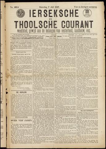 Ierseksche en Thoolsche Courant 1917-07-07