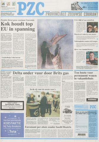 Provinciale Zeeuwse Courant 2001-12-15