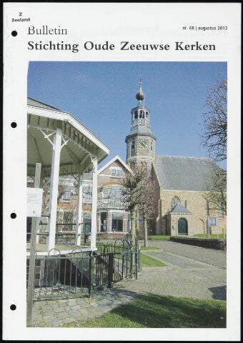 Bulletin Stichting Oude Zeeuwse kerken 2013-08-01